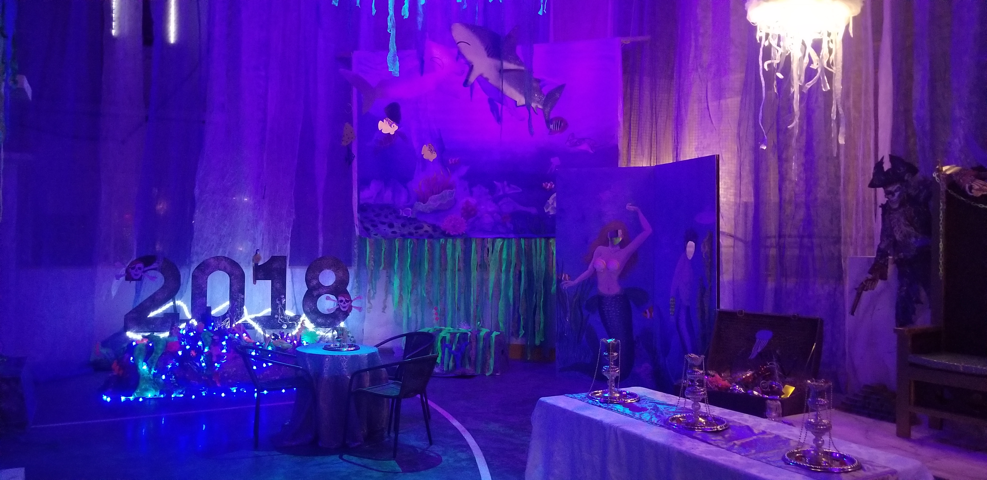2018 Under the Sea Dance Floor